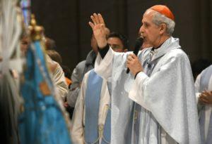 """La peregrinación a Luján concluyó con un llamado de Poli a imitar """"la unidad"""" de la celebración"""