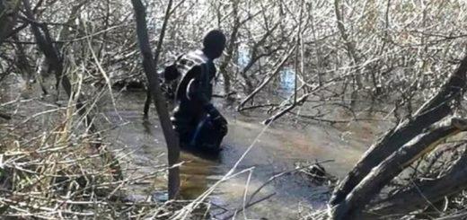 TN dice que es de Santiago Maldonado el cuerpo hallado ayer en el Río Chubut