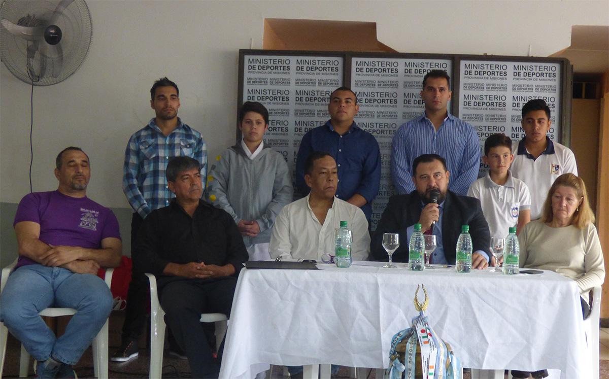 La Federación Misionera de Karate-Do presentó a sus autoridades