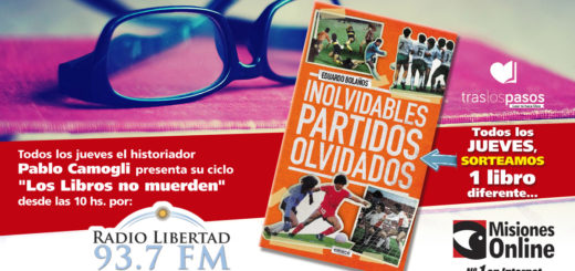 """""""Los Libros no Muerden"""": Hoy sortearemos """"Inolvidables Partidos Olvidados"""""""