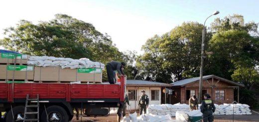 El INYM decomisó más de tres mil kilos de yerba sin estampilla