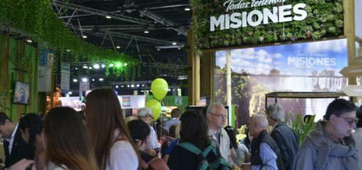 """Gran participación de Misiones en la """"Feria Internacional de Turismo"""""""