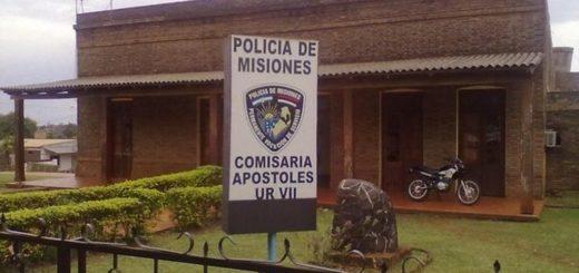 Motociclista con 3,41 de alcohol en sangre chocó contra un auto estacionado: golpeado y preso en Apóstoles