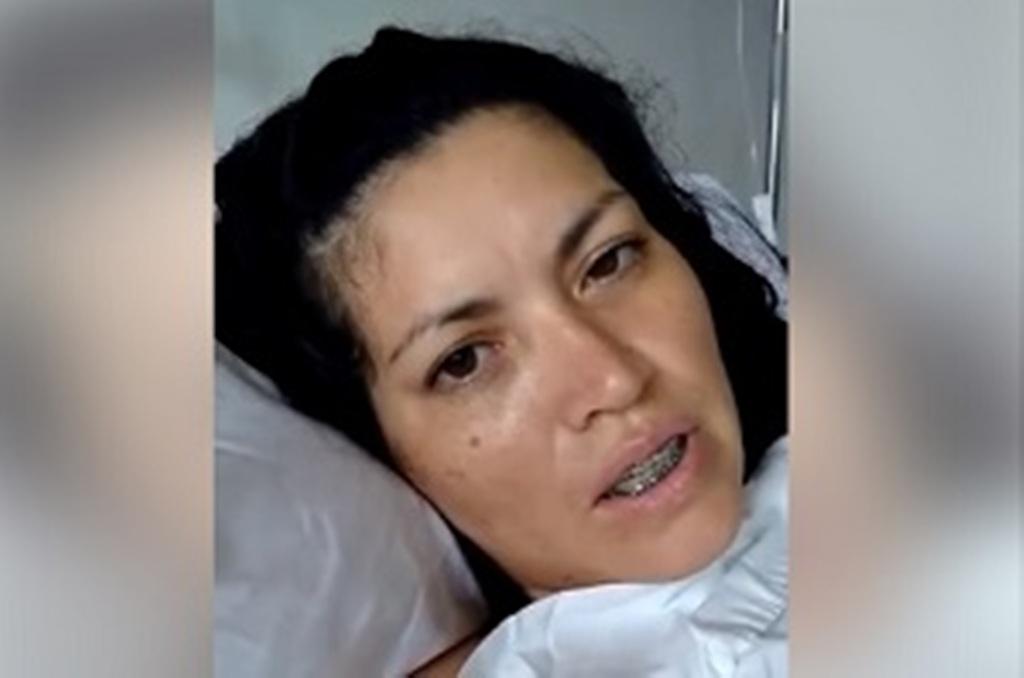 Se recupera la mujer acribillada por su ex en Eldorado: «Si no fuera por las manos de Dios no estaría viva»