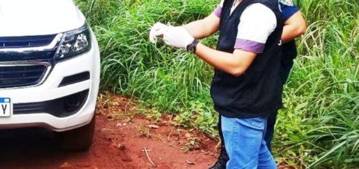 """La Policía incautó marihuana y """"Pedra""""- cocaína fabricada en Brasil - en operativo antinarcóticos"""