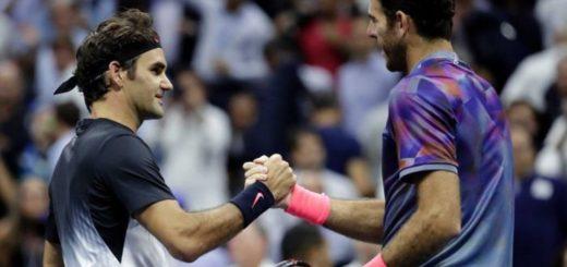 Del Potro ganó el primer set del ATP 500 a Federer