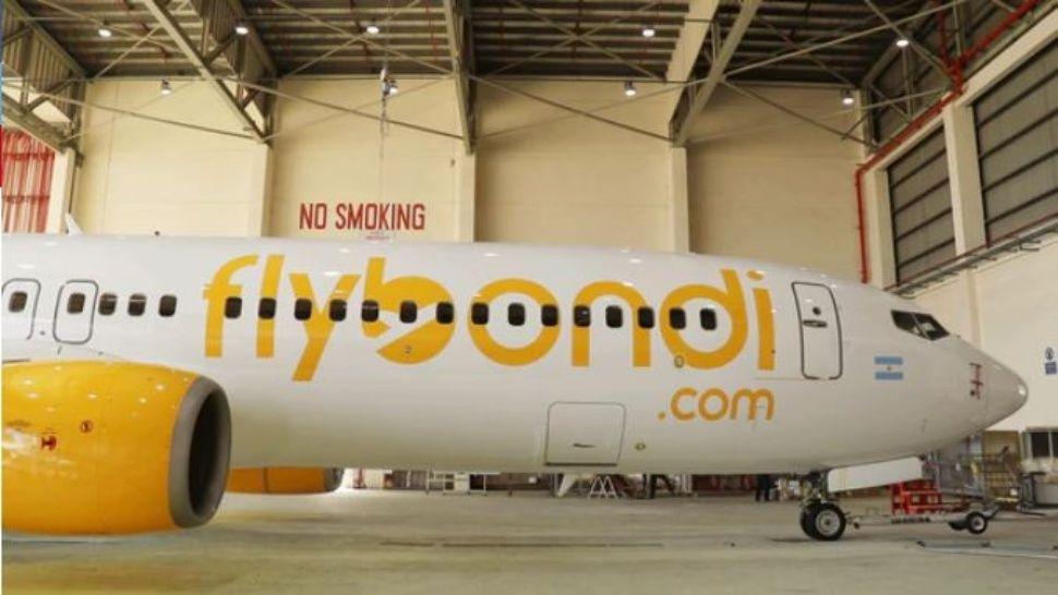 La empresa de aérea Flybondi comenzará a operar con pasajes a $600