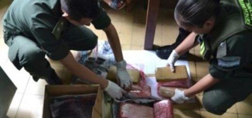 Cuatro años de prisión para una pareja paraguaya que pretendía llevar más de 20 kilos de droga en un micro de larga distancia