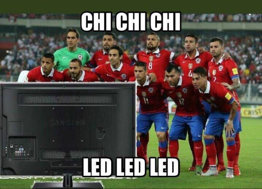 Los memes de la derrota de Chile y su ausencia del próximo Mundial