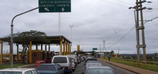La EBY inicia las obras de pavimentación para el Centro de Frontera