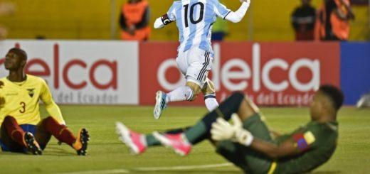 Messi lo da vuelta y mete a Argentina en el Mundial