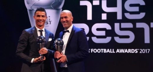 """Cristiano Ronaldo nuevamente fue elegido como """"El Mejor"""""""