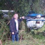 Iguazú: Iba huyendo con un televisor robado, antes de llegar a su destino fue detenido