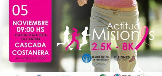 Mañana se realizará en la Costanera, frente a la zona de la cascada, la maratón organizada por Predigma