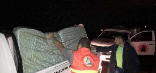 Temporal en Posadas: Los Patitos, Néstor Kirchner y chacra la 147, los principales barrios afectados