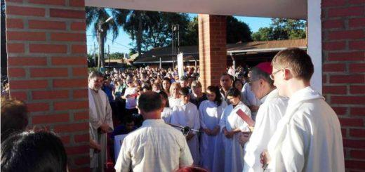 Quedó oficialmente inaugurada ayer la Capilla de Adoración Perpetua de la Diócesis de Posadas