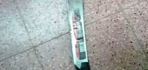 """Violentos y con machetes: uno fue detenido por amenazar al vecino y otro cayó cuando cobraba """"peaje"""" en Posadas"""