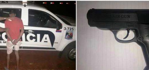 Tras una persecución, la policía detuvo a un hombre por amenazas de muerte en Eldorado