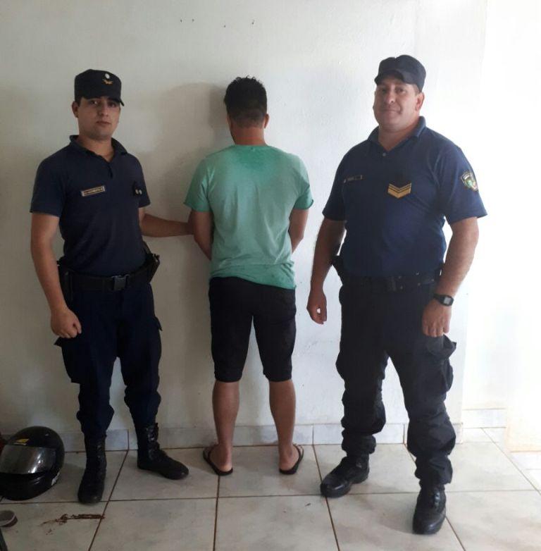 Terminó tras las rejas por amenazar de muerte a una familia en Irigoyen