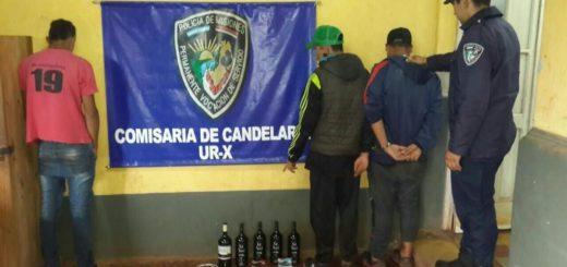 Candelaria: cuatro adolescentes fueron detenidos por robar en una vivienda