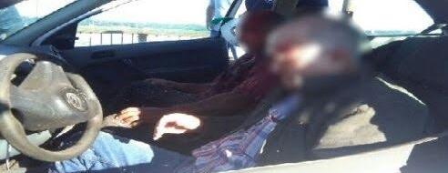 Choque entre dos autos sobre el puente El Zaimán dejó tres heridos