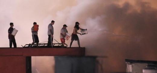 Grave incendio en Buenos Aires dejó 14 heridos