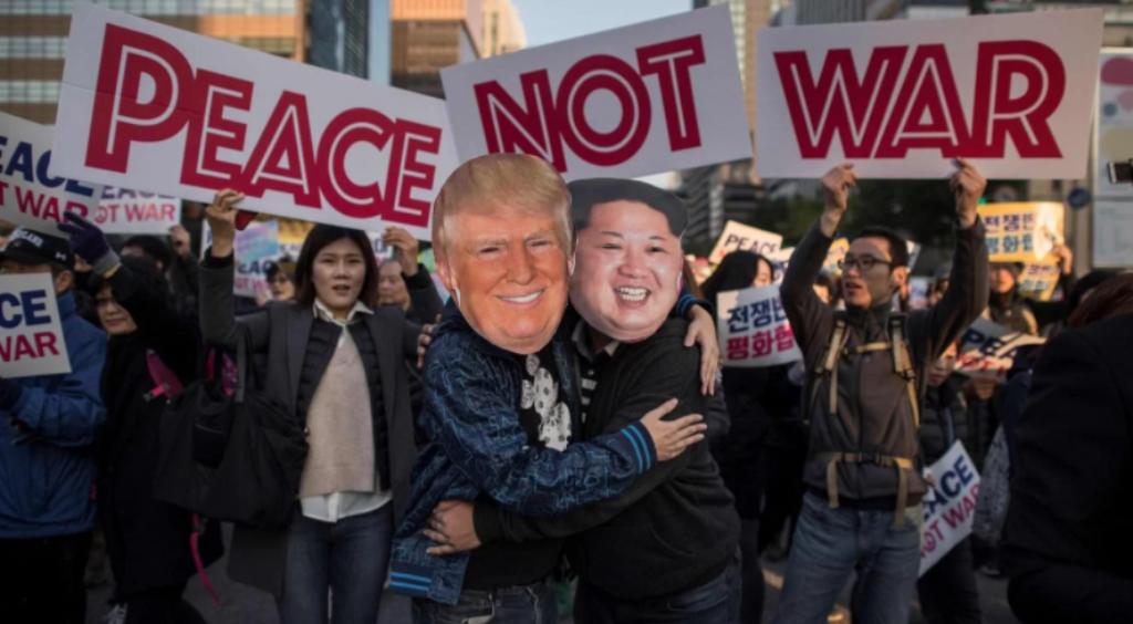 Para Corea del Norte Donald Trump merece la pena de muerte por tratar a Kim Jong-un de «bajito y gordo»