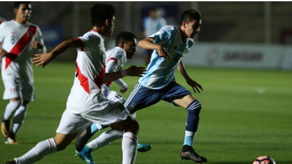 Sudamericano Sub 15: Argentina goleó a Perú y jugará la final con Brasil