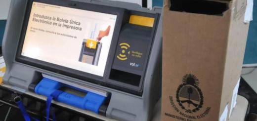 Recomendaron al Gobierno no implementar el voto electrónico