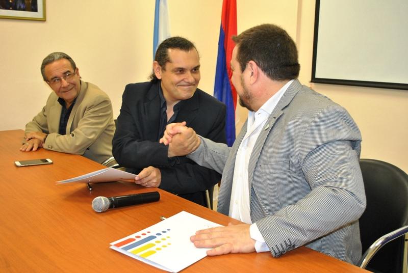 Marandú Comunicaciones y la Facultad de Exactas rubricaron un convenio de cooperación