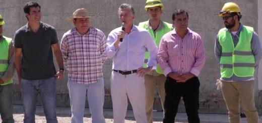 """Macri: """"Nunca más la frase 'roban pero hacen', ahora se hace con transparencia"""""""