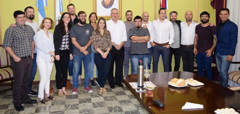 Passalacqua expresó su respaldo a jóvenes emprendedores gastronómicos