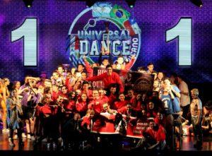 """Universal Dance: High Quality Crew de Posadas en el podio de """"Campeones del Sudamericano"""" de Hip Hop del torneo más grande de Latinoamérica"""