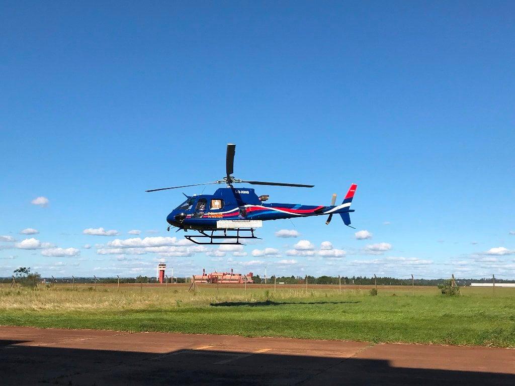 Ya está en Misiones el nuevo helicóptero adquirido por la Provincia para la Policía