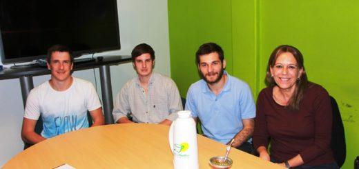 Estudiantes becados por el INYM investigan sobre malezas y una nueva cubierta verde