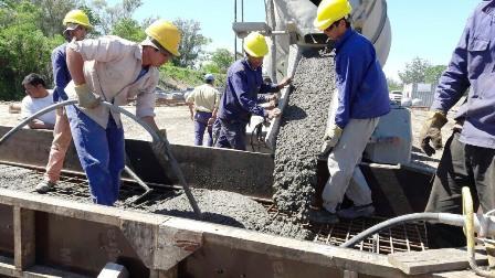 Avanzan a buen ritmo las tareas para la instalación del Puente Provisorio sobre el Arroyo Guazú en Corrientes