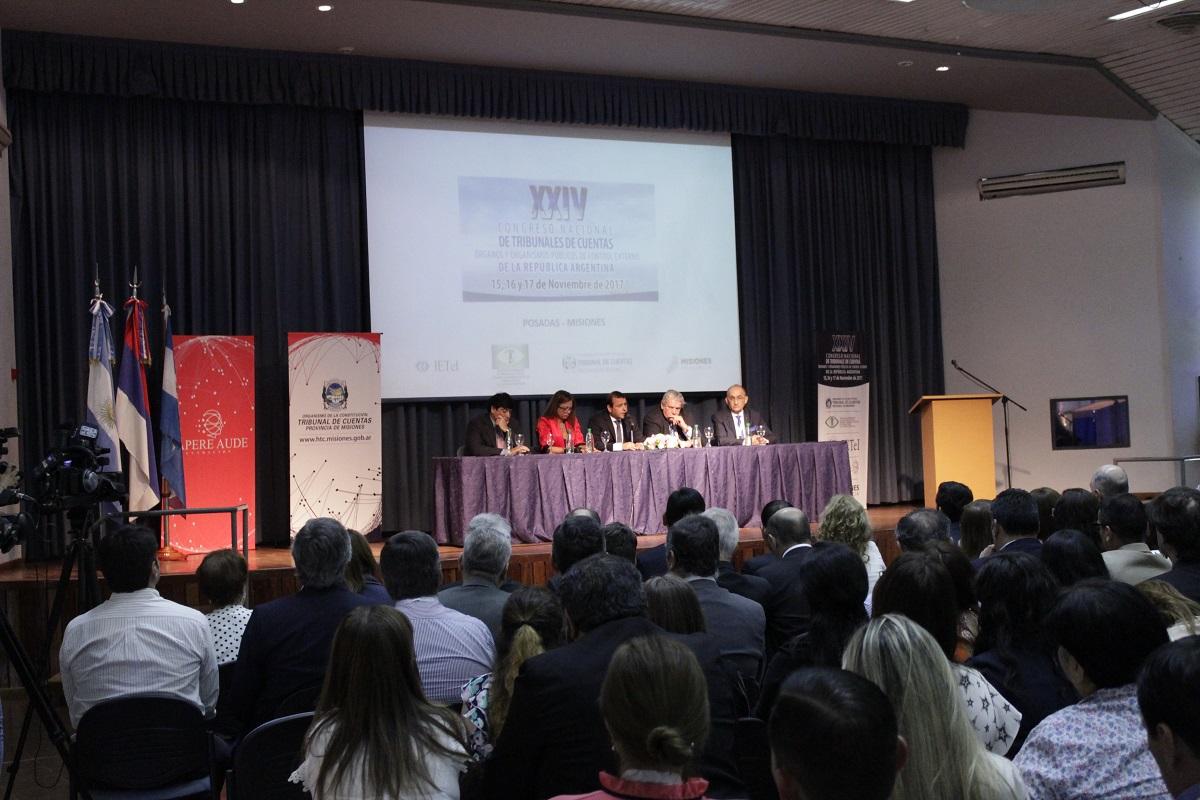 Con la presencia de 300 participantes, lanzaron el XXIV Congreso de Tribunales de Cuentas de la República Argentina