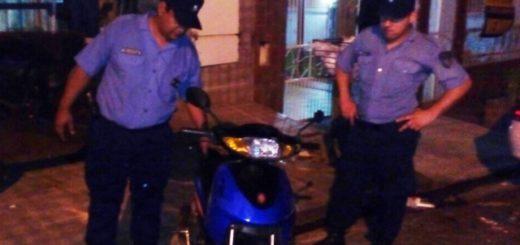 Posadas: robó una moto, la escondió en un inquilinato y fue detenido