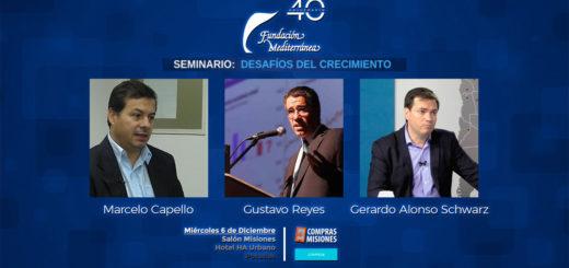 La Fundación Mediterránea realizará un seminario para cerrar el año: Inscribite en Compras Misiones