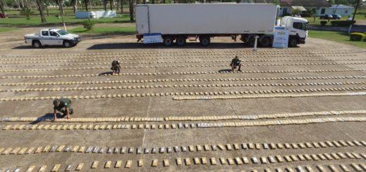Narcotráfico: la megacarga de marihuana decomisada en Corrientes había partido de Garupá