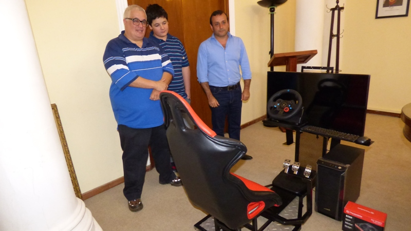 Entregaron equipamientos para el programa de Seguridad Vial de Vicegobernación
