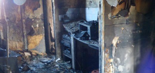 Posadas: Un cortocircuito de un ventilador fue lo que ocasionó el incendió que destruyó una vivienda en Villa Cabello