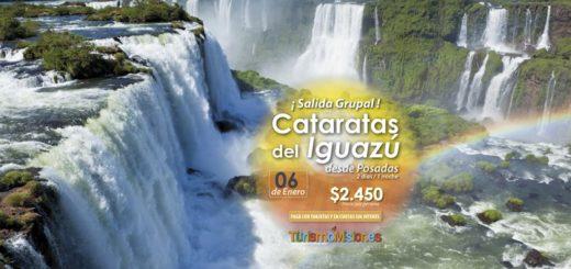 Turismo Misiones te lleva a Cataratas del Iguazú, Wanda y San Ignacio por $2.450 por persona