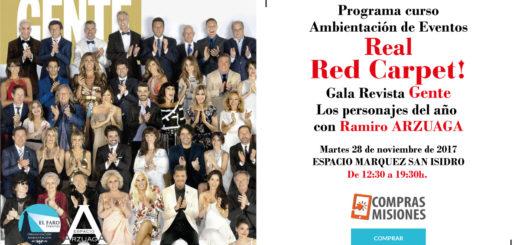Con Compras Misiones y Ramiro Arzuaga ambientá el evento más glamoroso: La Gala de Gente y los personajes del año