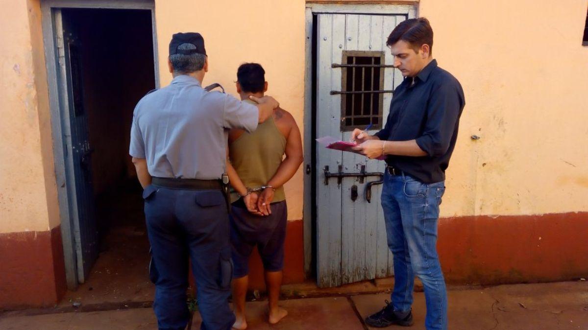 En San Ignacio apresan a un joven por el asalto a punta de cuchillo que sufrió una mujer en plena calle