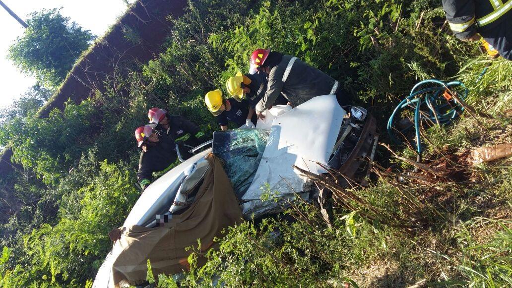Identificaron a los tres fallecidos del fatal accidente en Santo Pipó