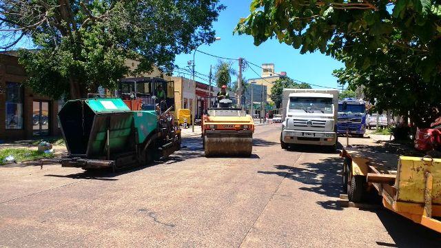 Vialidad reparó la avenida Santa Catalina de Posadas