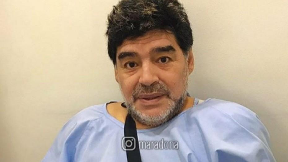 Operaron exitosamente a Diego Maradona en Dubai