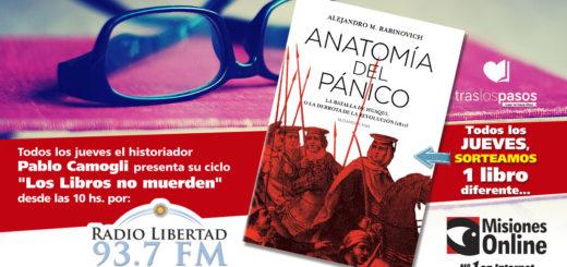 """""""Los libros no muerden"""": El concurso por un ejemplar de """"Anatomía del Pánico"""" lo ganó…"""