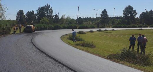 Vialidad reasfaltó el Velódromo Municipal de Apóstoles